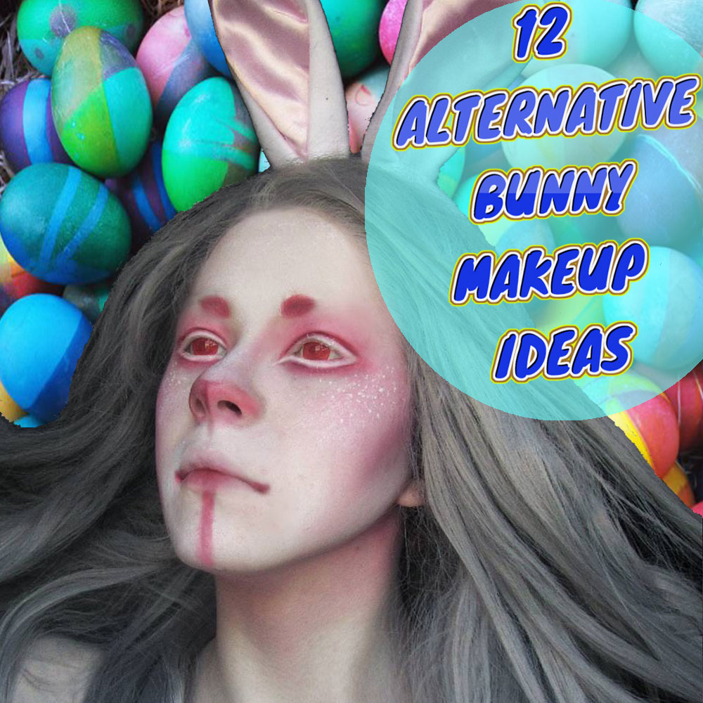 Bunny Makeup and Hair Ideas