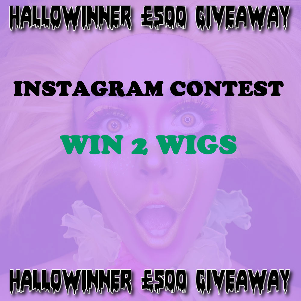 Halloween Wig Giveaway Competition
