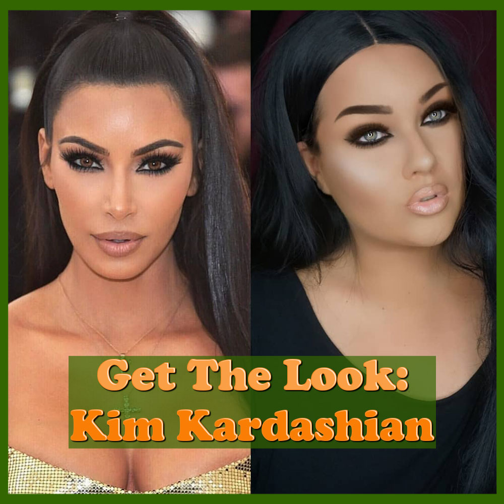 How To Kim Kardashian Hair Makeup