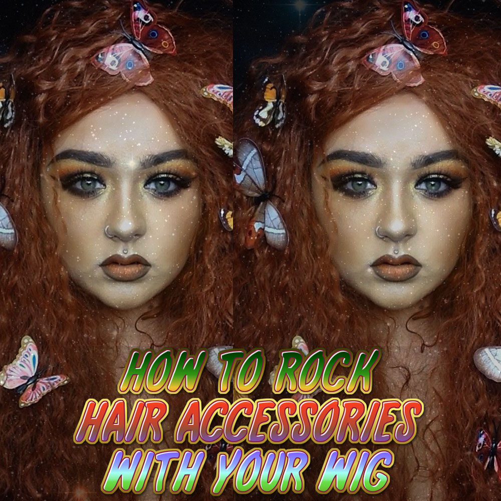 How To Style A Wig With Accessories