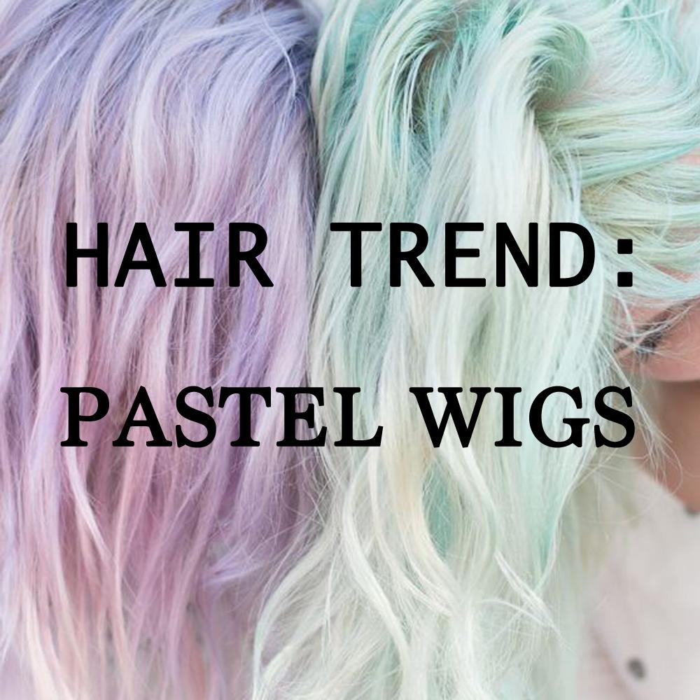 Pastel Lace Front Wigs