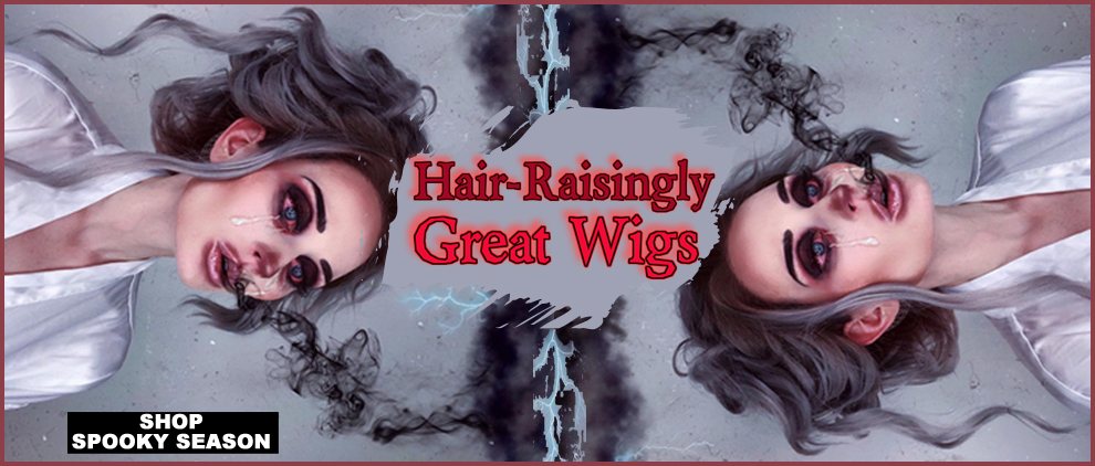 Halloween Wigs Costume Lace Front
