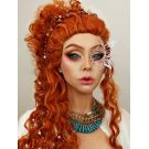 Ginger Wig Long Curly