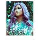 Silver Purple Wig