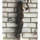 Clip In Ponytail Brown Curly