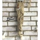 Clip In Ponytail Natural Blonde Curly