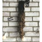 Clip In Ponytail Ombre Curly
