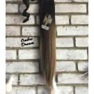 Clip In Ponytail Ombre Straight