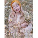 Cottagecore Wig Blonde Long Wavy