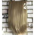 Half Wig Gold Blonde Straight