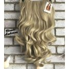 Half Wig Curly Natural Blonde