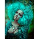 Light Green Afro Wig