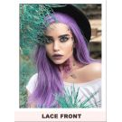 Light Purple Lace Front Wig