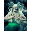 Mermaid Wig Blonde Long