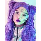 Purple Wig Lace Front