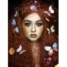 Red Wig Long Curly Fairy Cosplay