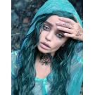 Teal Green Wig Lace Front