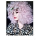 Extra Large Pink Afro Wig UK
