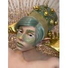 60s Wig Green Beehive