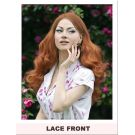 Pin Up Wig Lace Front Ginger