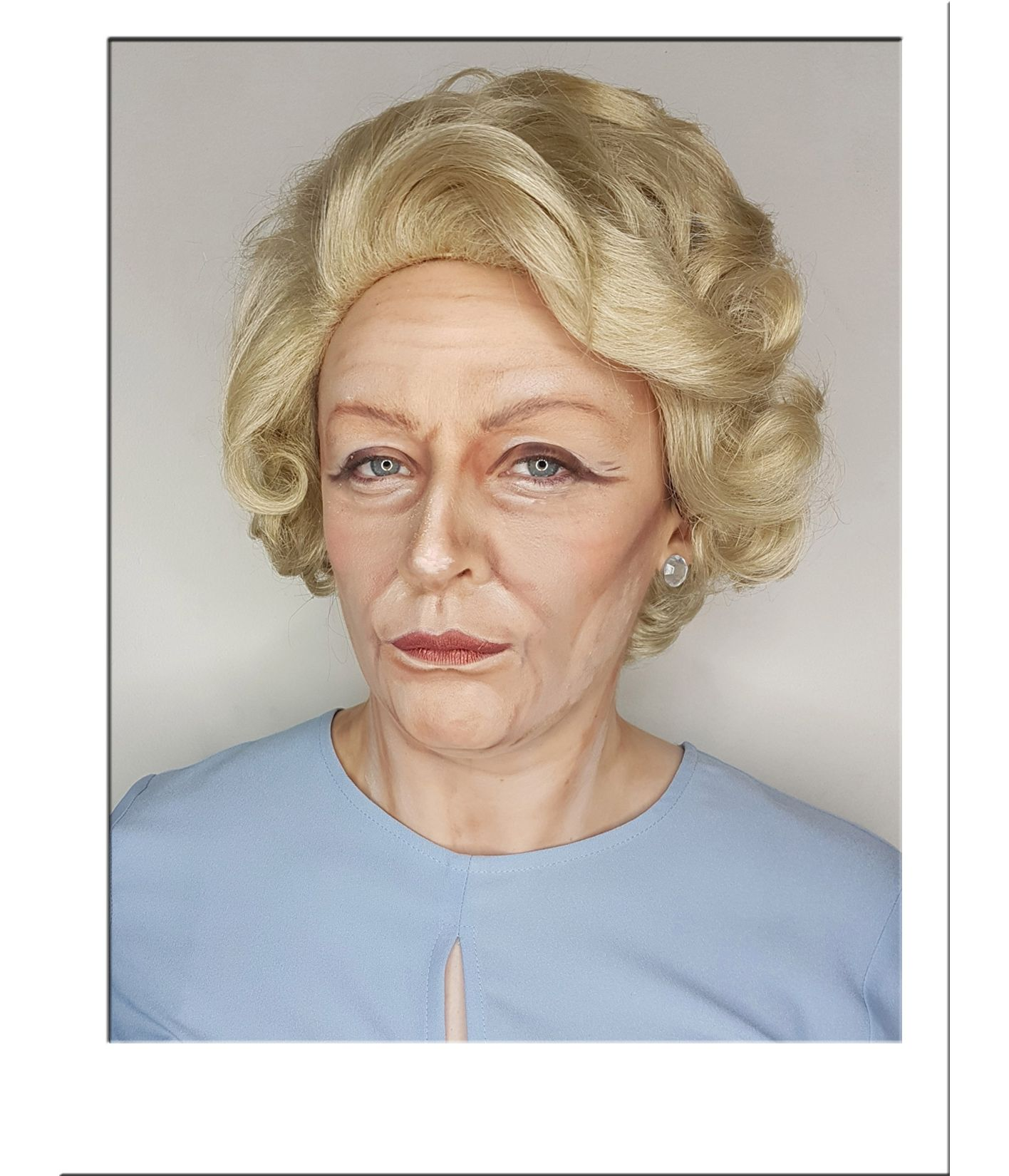 Old Lady Wig Blonde Costume Wigs Star Style Wigs Uk