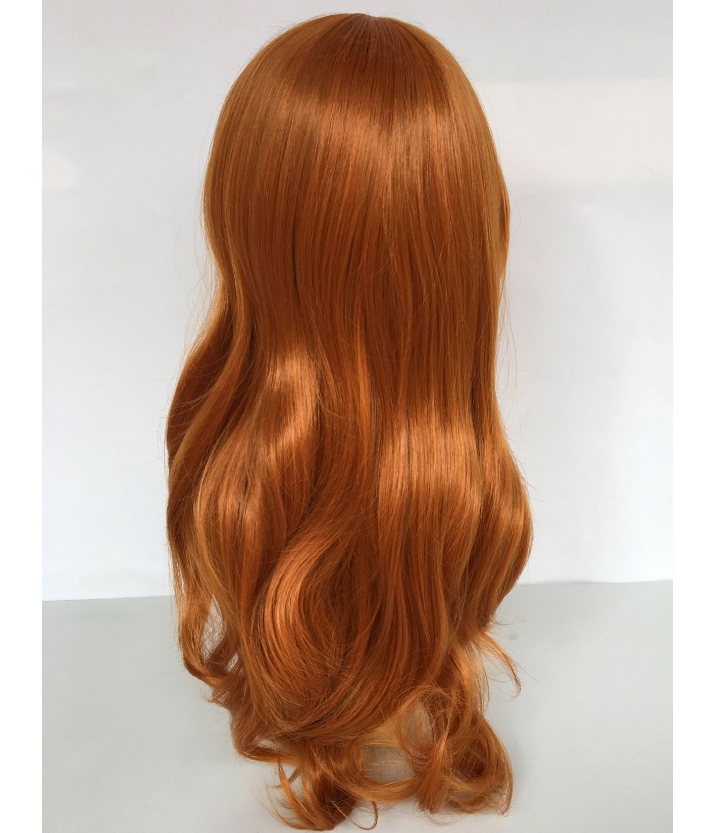 Ginger Wig Long Wavy Fashion Wigs Star Style Wigs Uk