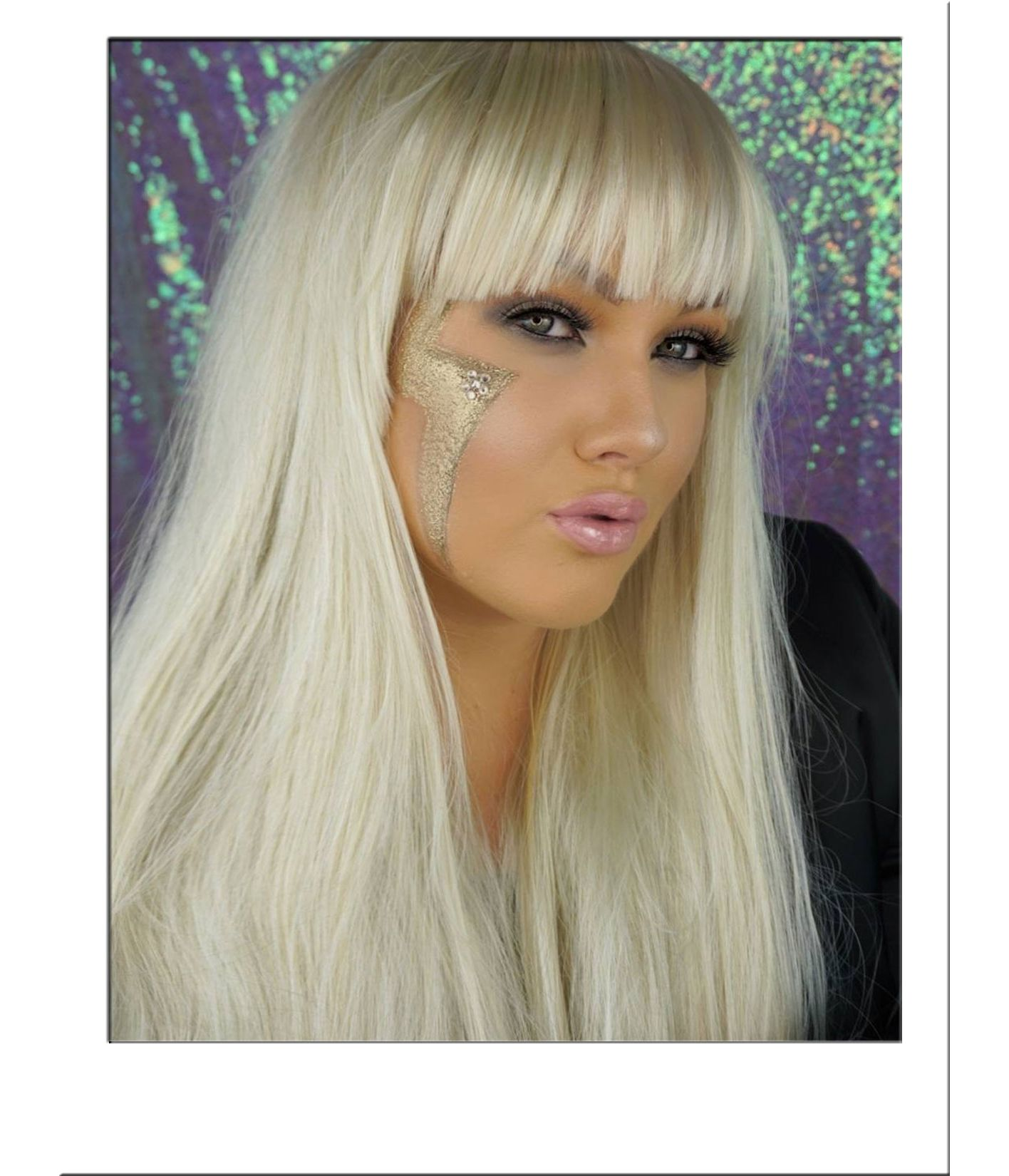 Long Blonde Wig With Fringe UK ... c8cc361601a4