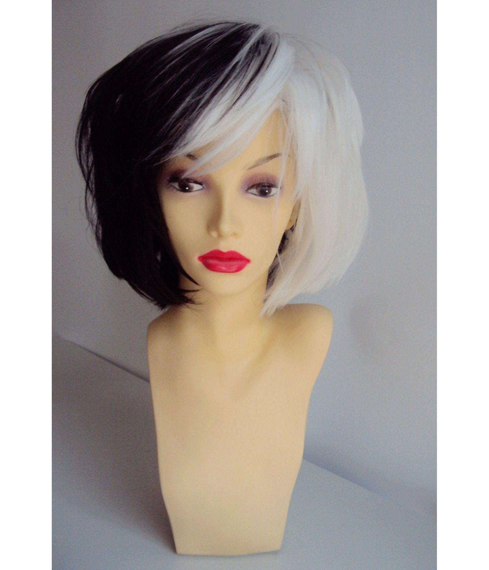 Cruella Deville Wig Costume Wigs Star Style Wigs Uk