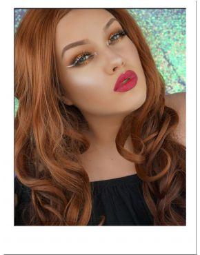 Auburn Wig Long