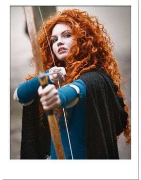 Merida Wig Cosplay UK