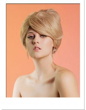 Blonde Beehive Wig 1960s