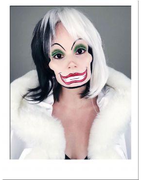 Cruella Deville Voluminous Bob Wig