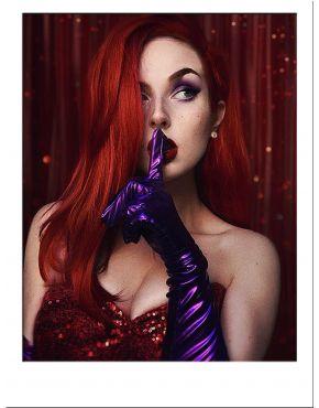 Jessica Rabbit Wig