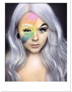 Silver Wig Long Wavy