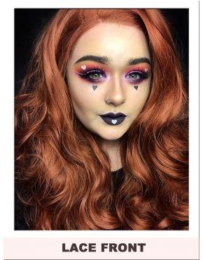 Auburn Lace Front Wig