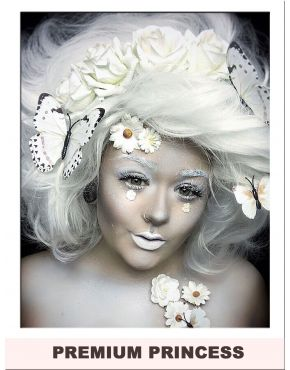 Cotton Candy Hair Wig White