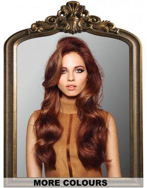 Half Wig Curly Long