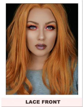 Orange Caramel Lace Front Wig