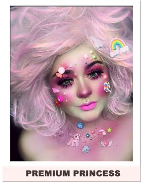 Pink Cotton Candy Hair Wig