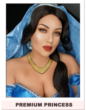 Princess Jasmine Wig Womens