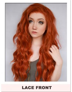 Ginger Orange Lace Front Wig