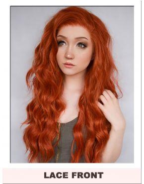 Ginger Orange Lace Front Wig