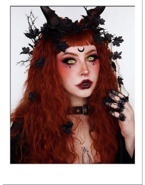 Red Wig With Bangs Curly
