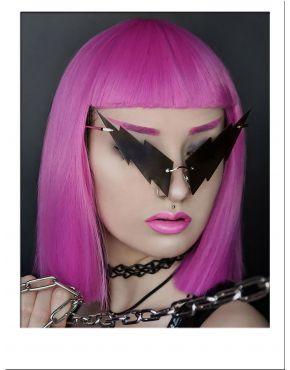 Magenta Pink Wig Bob