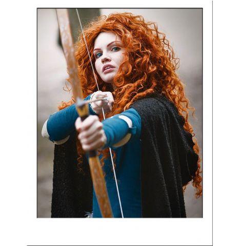 Merida Brave Costume Wig