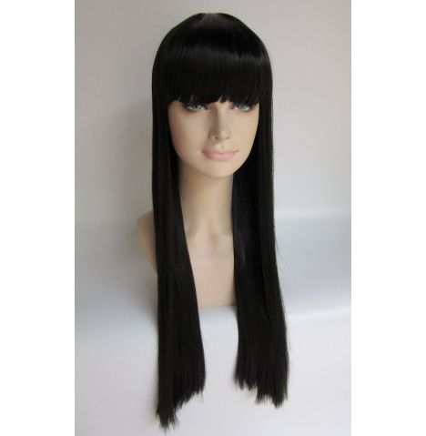 Lady Gaga Long Black Hairpiece