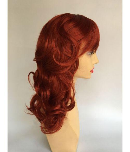 1940s Wig Red Retro