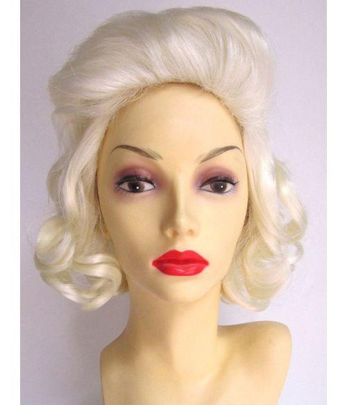 50s Blonde Marilyn Wig