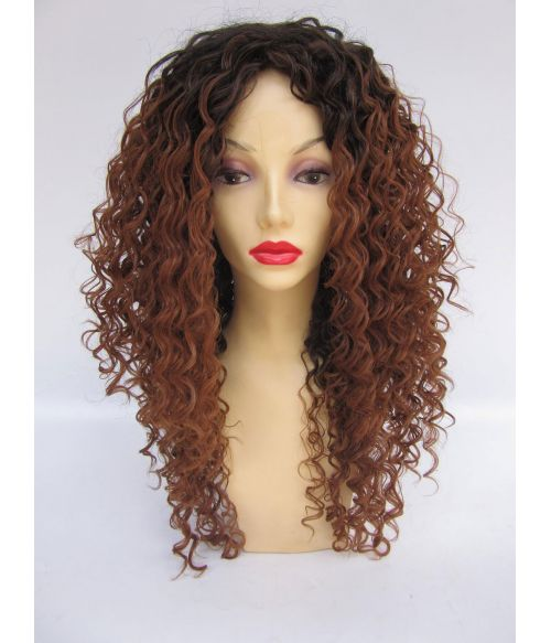 Highlighted Afro Fashion Wig