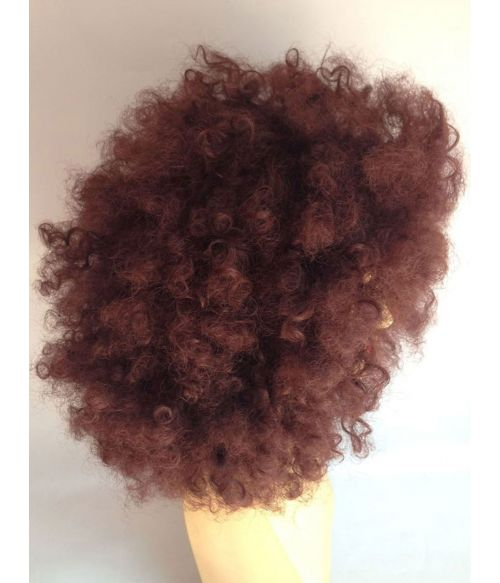 Afro Wig Brown Curly